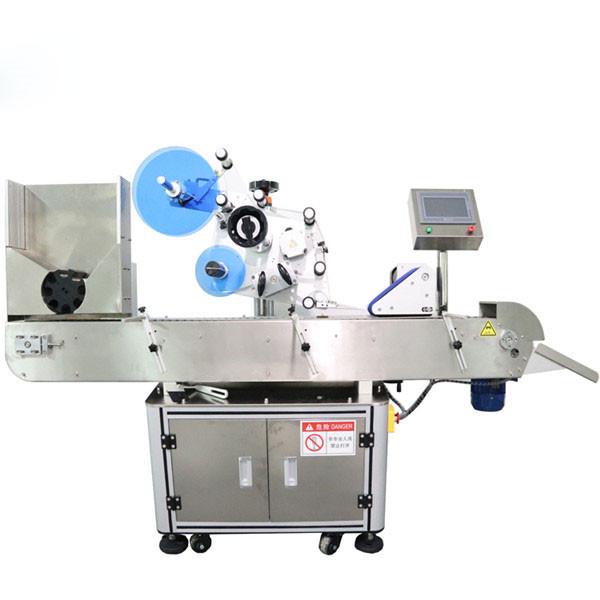 Automatisk etikettmaskin för horisontell injektionsflaska