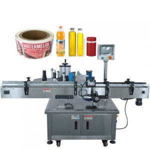 Tillverkare Horizontal Way Electronic Cigarette Labelling Machine