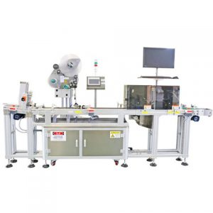 Horizontaly Way Sticker Ampoule Oral Liquid Labelling Machine
