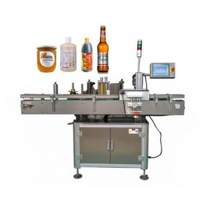 Sachet Sea Sault Or Oil Bag Labeling Machine
