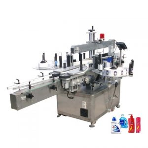 Food Poly Bags Label Labeler Machine