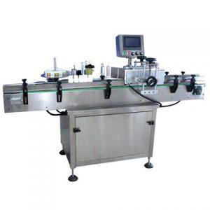Manuleringsmaskin för fyrkantig flaskmärkning