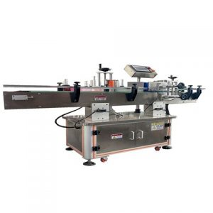 Automatic Front And Back Sides Labeling Machine China
