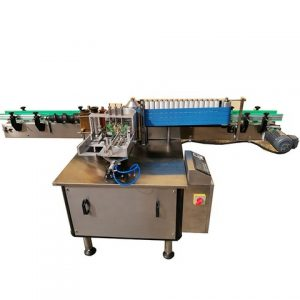 Easy Operation Full Flat Bottle Positioning Labeling Machine