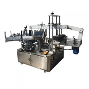 Full Juice Bottle Double Sides Stickers Labeling Machine