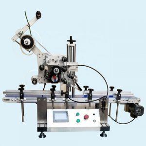 Auto Private Label Protein Powder Labeling Machine