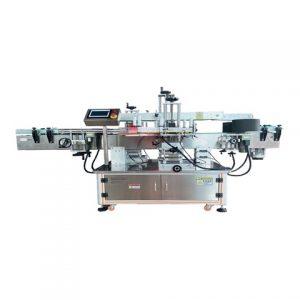 Klistermärkelindning Märkningsmaskin för fyrkantig burk
