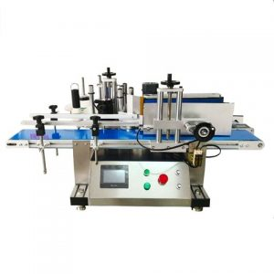 Oval Bottle Two Sides Labeling Machine