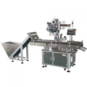 Battery Plate Labeling Machine On Top Surface