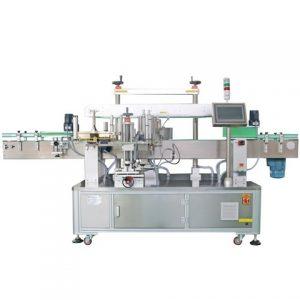 Automatisk etikettpasta maskin Alkoholflaska märkningsmaskin
