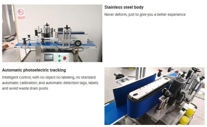 Automatiska detaljer för maskin för märkning av bordsflaska