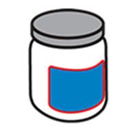 Rund flaskmärkning